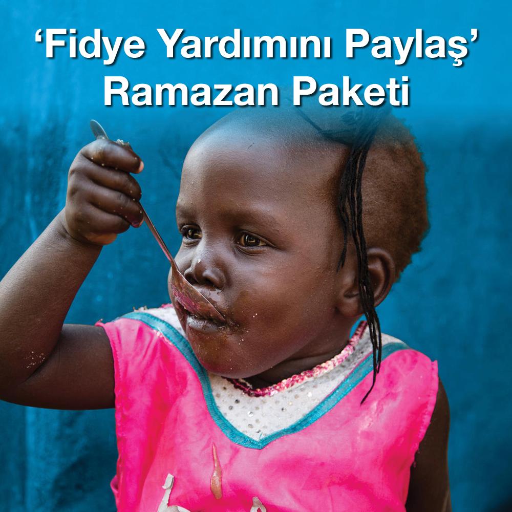 'Fidye Yardımını Paylaş' Ramazan Paketi