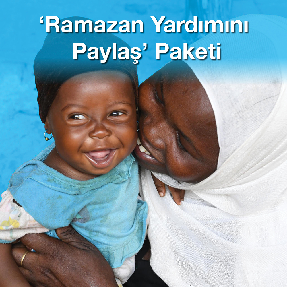 'Ramazan Yardımını Paylaş' Paketi
