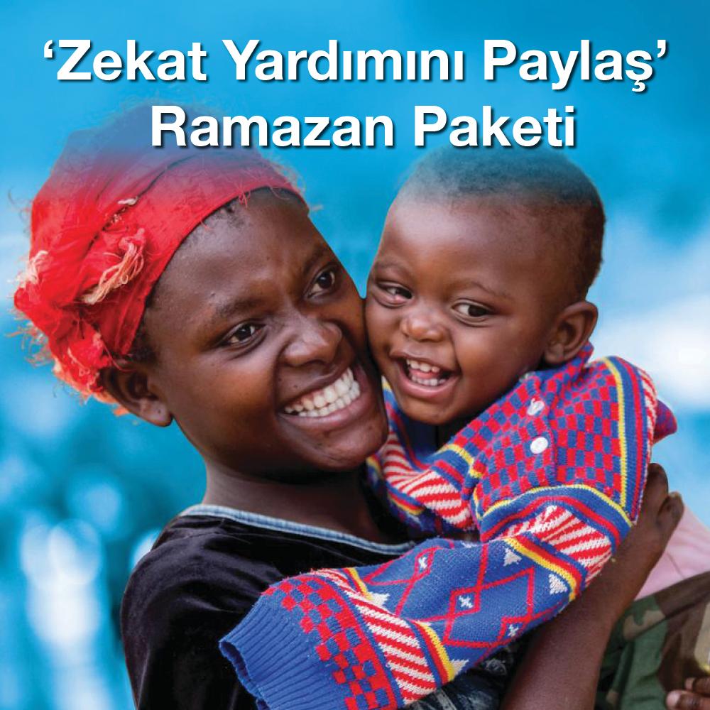 'Zekat Yardımını Paylaş' Ramazan Paketi